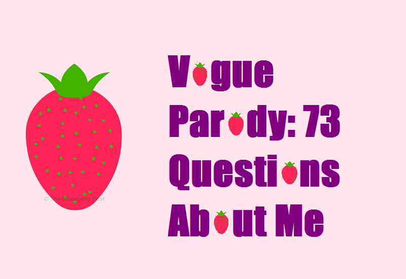 Vogue Parody 73 Questions About Me feature image